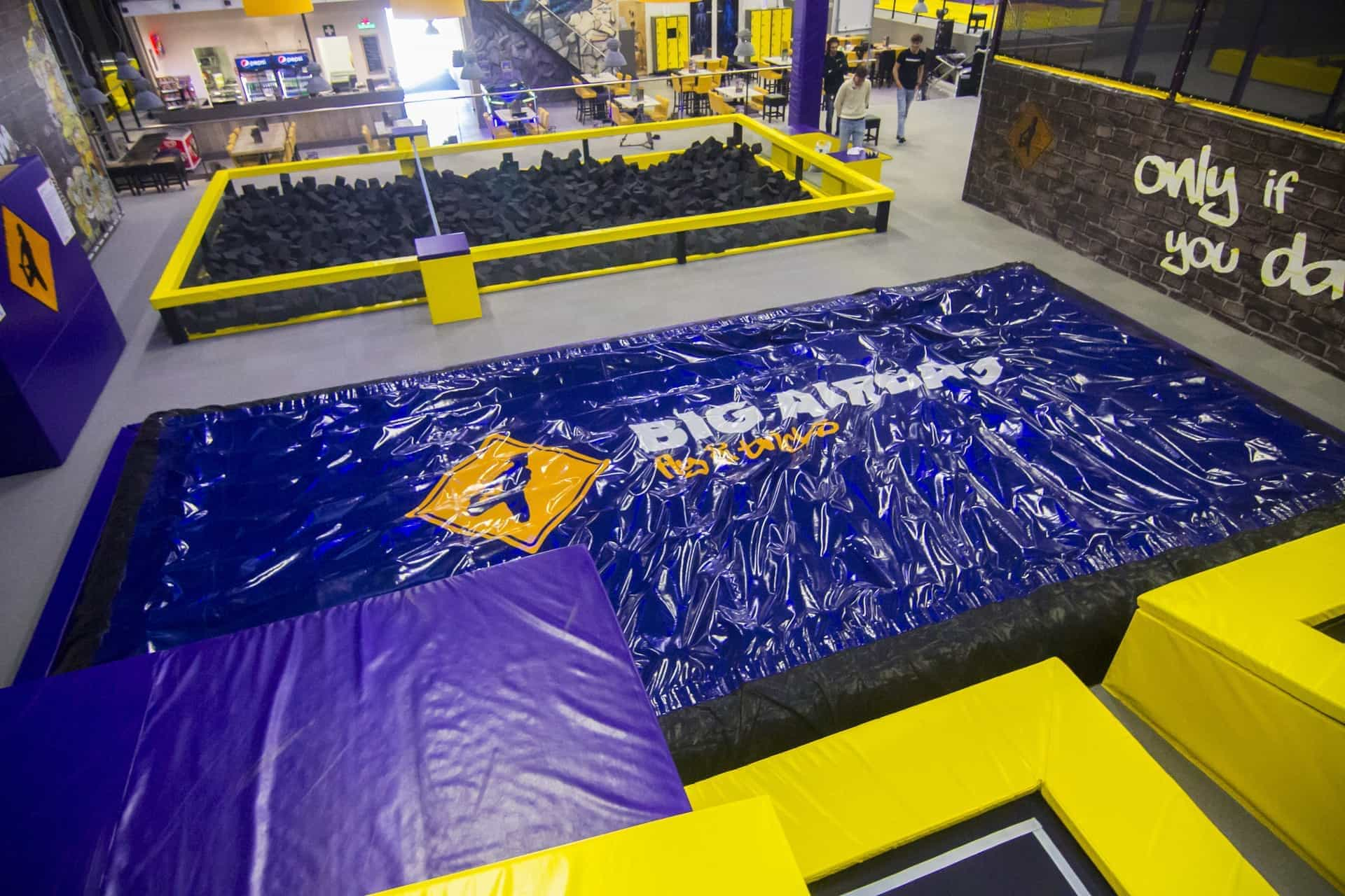 Foam Pit Airbag At Trampoline Parks Across The World