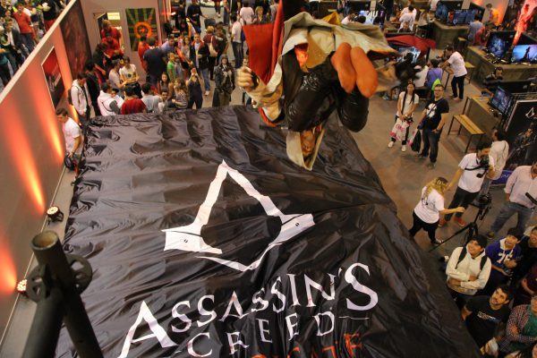 Assasins Creed satin Topsheet on the BigAirBag