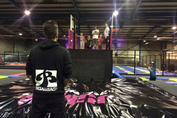 Coaching in trampoline park