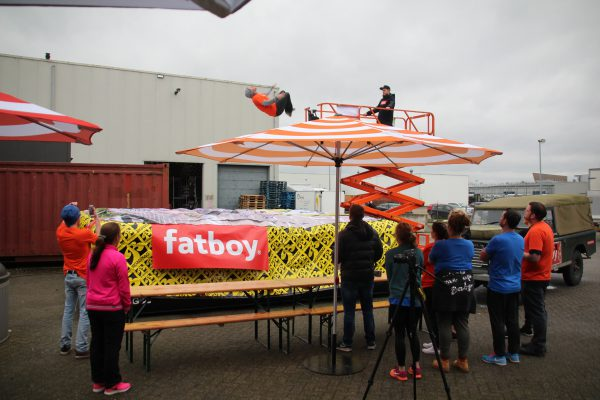 Fatboy corporate event