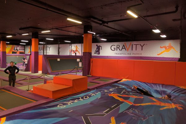 Gravity trampoline parks owns multiple BigAirBags