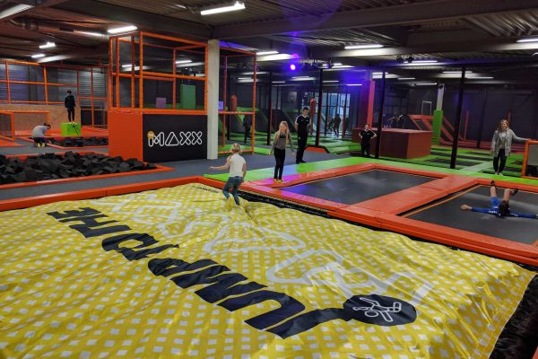 Jump to the maxx with this BigAirBag FOAM PIT