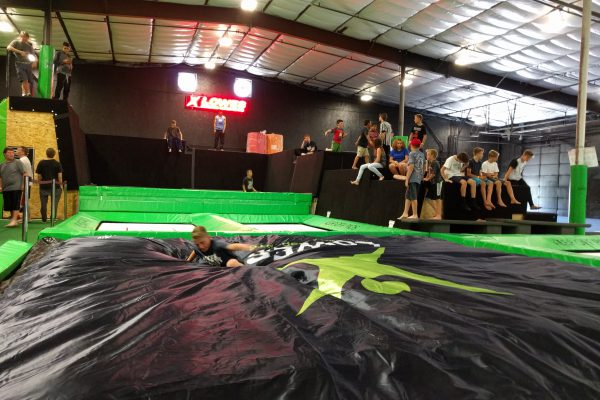 Learn new tricks on the Foam Pit BigAirBag