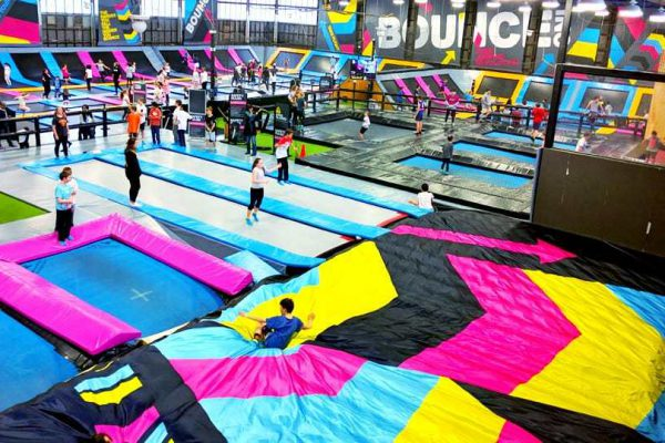 Proud to be the preferred airbag supplier for BOUNCEinc parks across the world