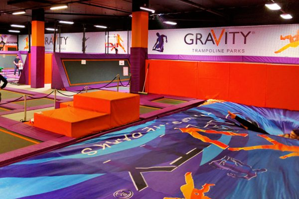 foam pit airbag gravity 2