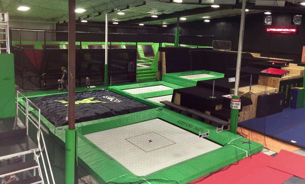 Two Foam Pit Bigairbags To Lowes Xtreme Airsports Usa