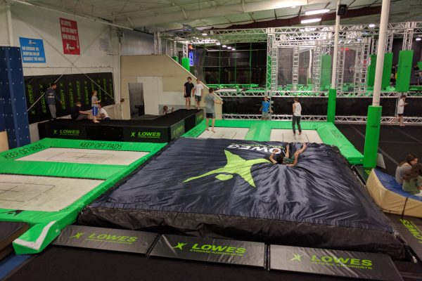 Lowes Xtreme Airsports in the US with MaxAir trampolines