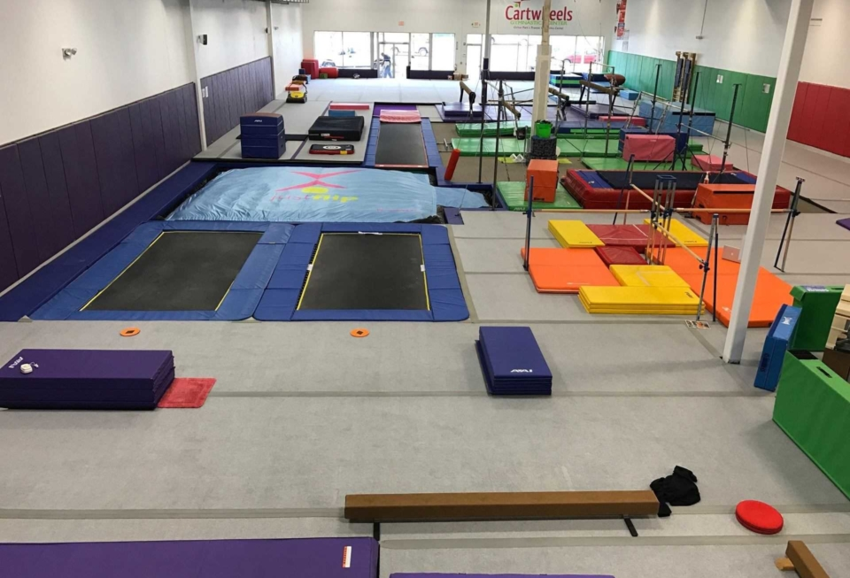 gymnastics foam pit replacement airbag