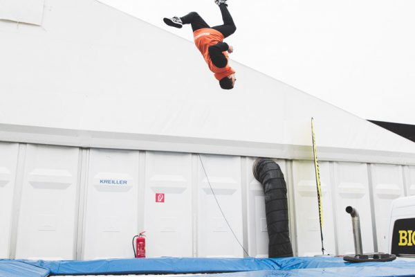 interalpin big airbag bagjump