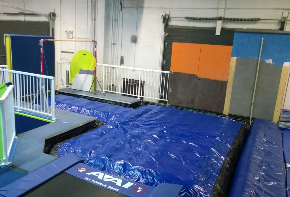 how to maintain foam pit