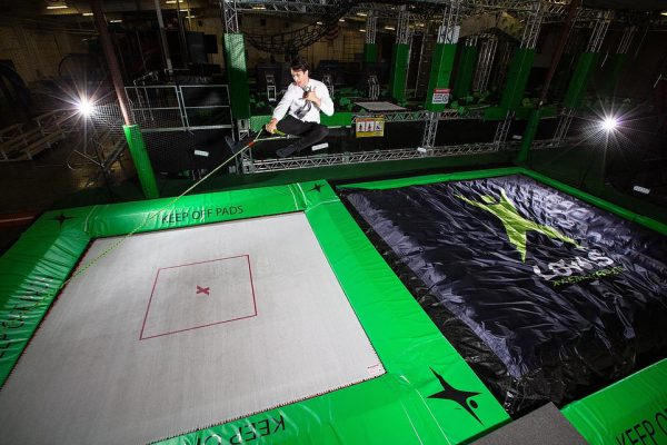 With the high performance trampoline and foam pit airbag you create the ultimate training setup