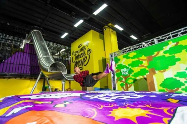 Products installed in the biggest Trampoline Parks franchises