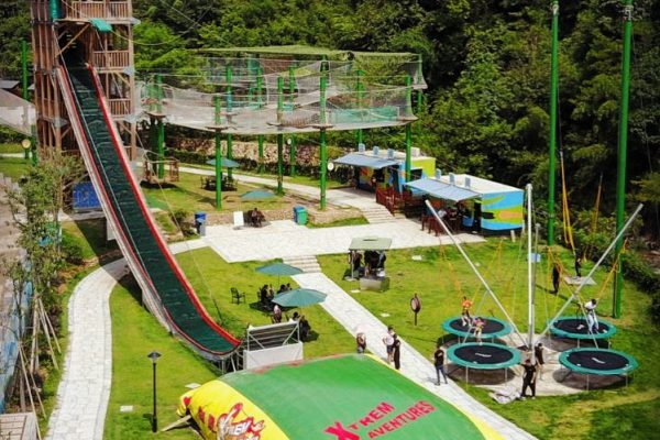 Thrilling activities for holiday parks