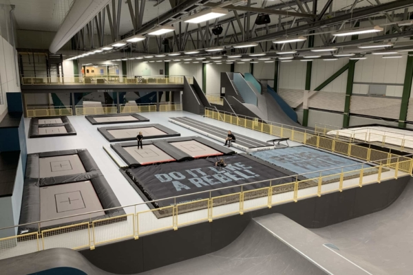 Trampoline parks are using 2