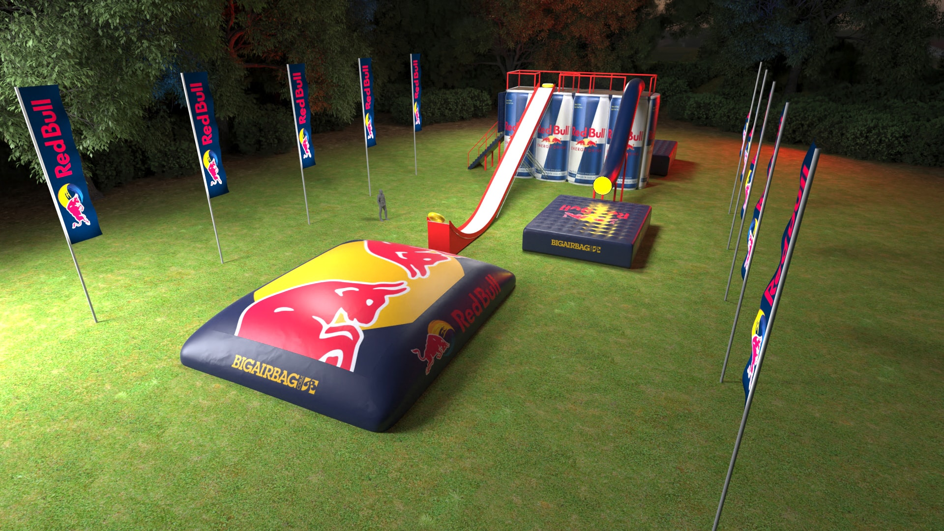 Red Bull Action Tower