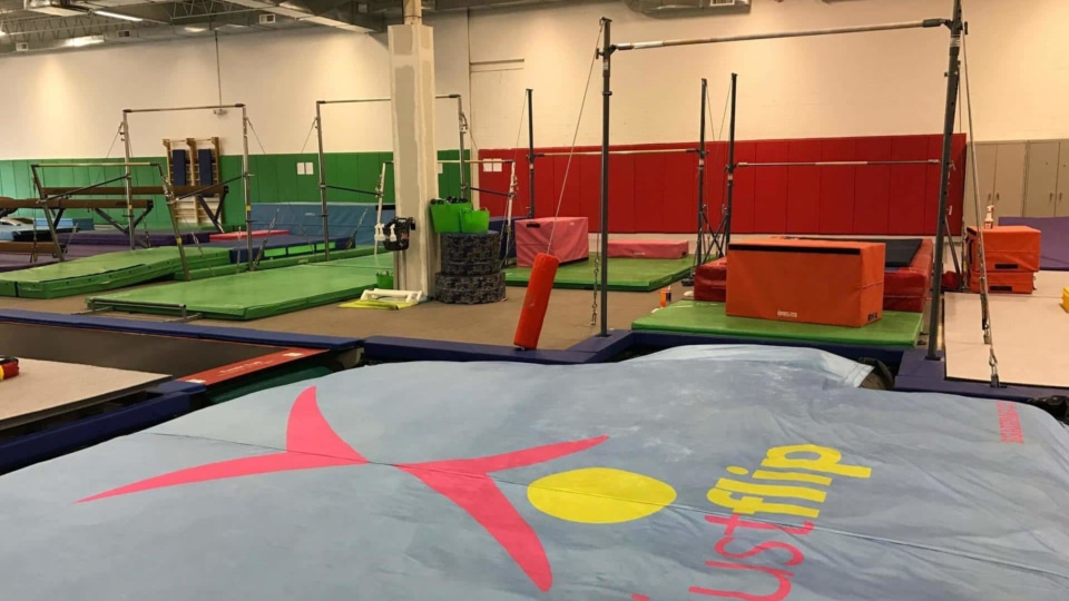 airbag for high bars training