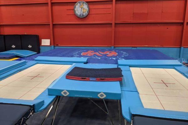high performance trampoline airbag foam pit