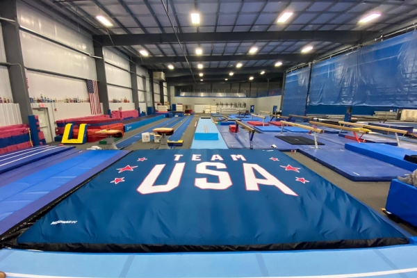 Olympic team USA women's training facility in Indianapolis